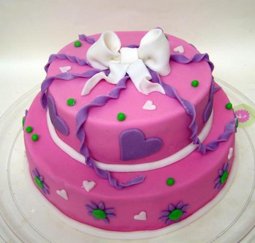 Торт с мастики на день рождения девочке